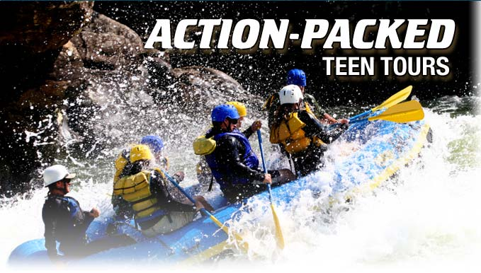 Action Packed Teen Tours
