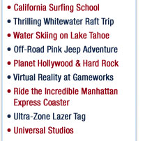 Adventure Roads Teen Tour Activities