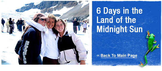 ATW Teen Tours :  6 Days in the land of the Midnight Sun