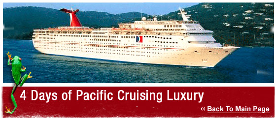 ATW Teen Tours : 4 Days of Pacific Cruising Luxury